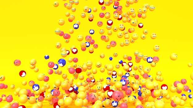 Caractère émoticône emoji