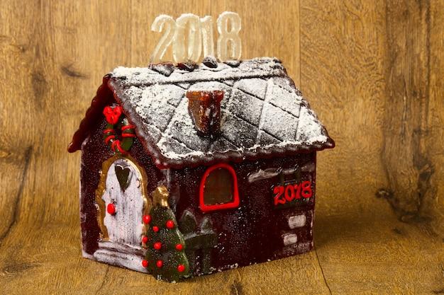Caramel bâtiment nouvel an