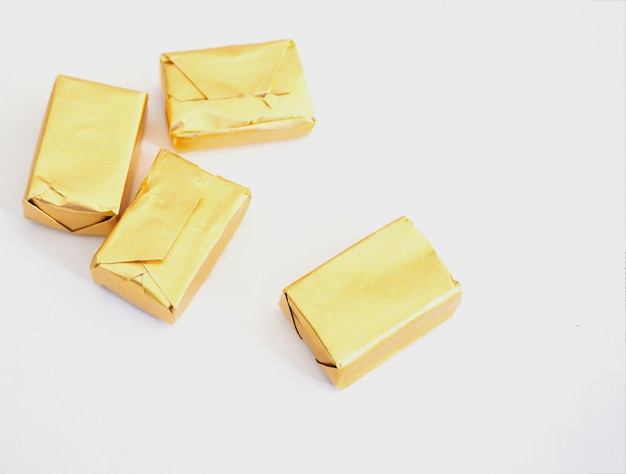 Caramel et or