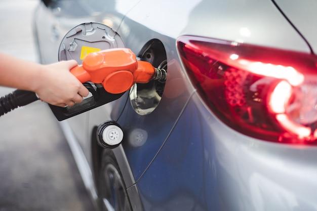 Carburant en libre service