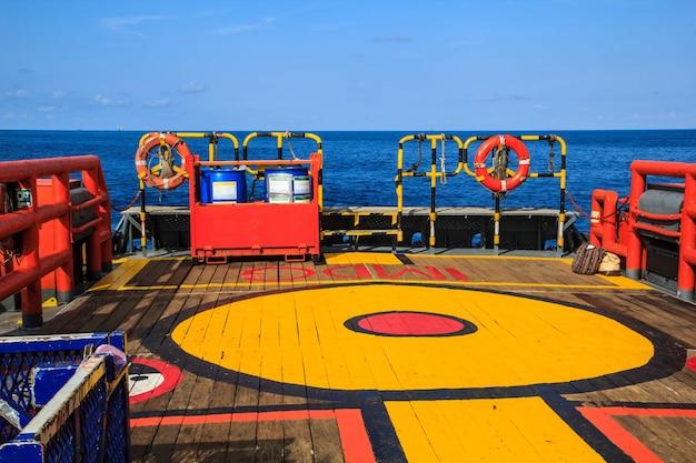 Cargaison offshore industrie production de pétrole et de gaz pétrole
