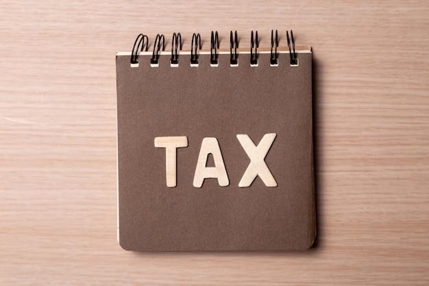 Carnet d'impôt