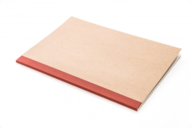 Carnet de notes vierge