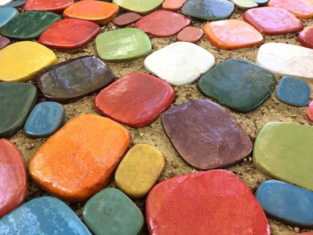 Carreaux de céramique colorés