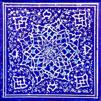 Carreaux de céramique décoratifs iraniens