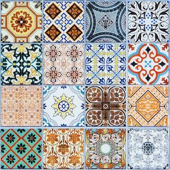 Carreaux de céramique du portugal.