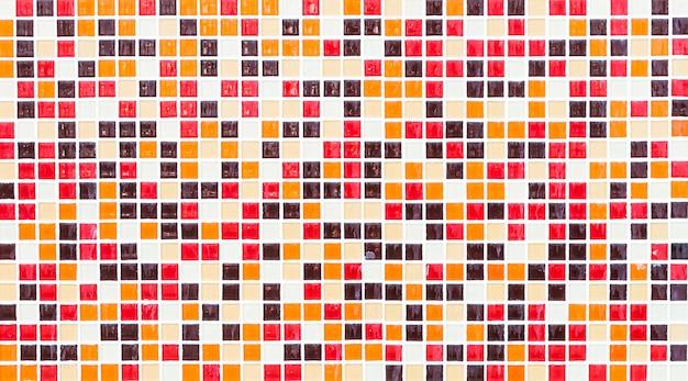 Carreaux de mosaïque colorée