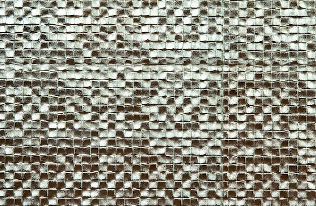 Carreaux de mosaïque pour murs et sols argent
