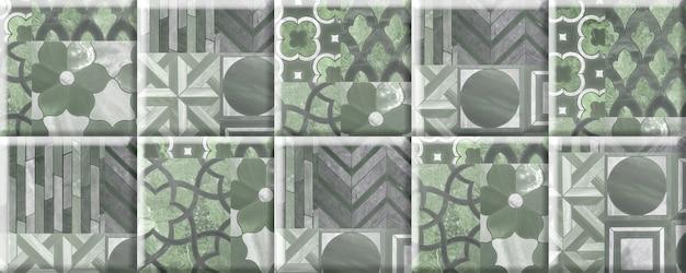 Carreaux de pierre pour la décoration murale avec un motif abstrait. élément de design d'intérieur
