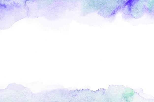 Carte aquarelle abstraite