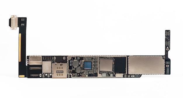 Carte de circuit imprimé de composants de tablette de téléphone intelligent du téléphone tablette mobile moderne