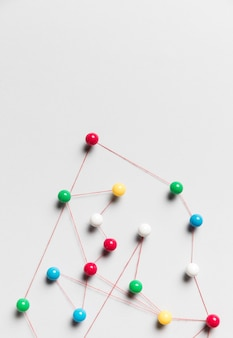 Carte de connexion et de punaise de fil