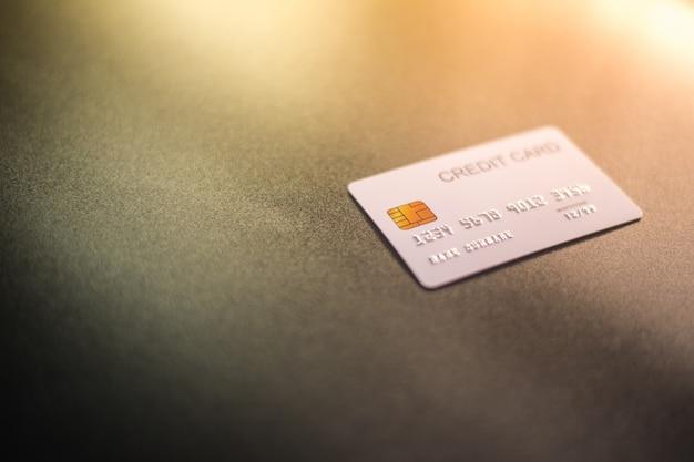 Carte de crédit blanche