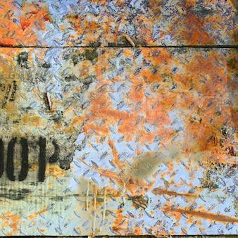 Carte du monde abstrait