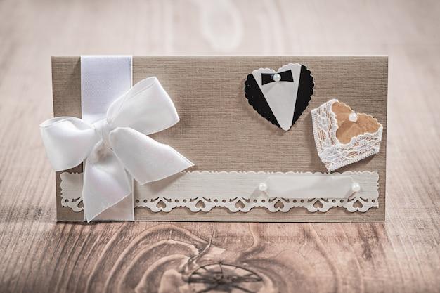 Carte d'invitation pour mariage