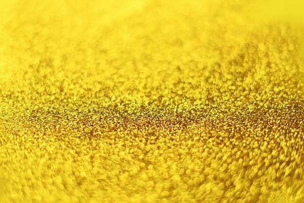 Carte de noël avec espace de copie, bokeh doré, brille, lumières défocalisées.