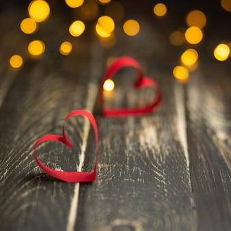 Carte postale pour la saint-valentin