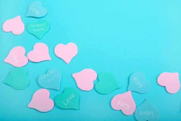Carte de la saint-valentin.