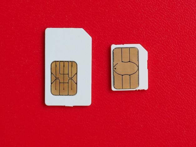 Carte sim et usim utilisée dans les téléphones