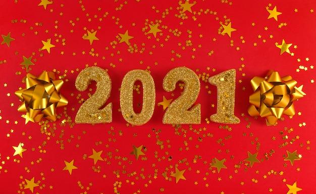 Carte de voeux du nouvel an 2021