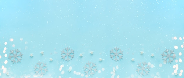 Carte de voeux joyeux noël et bonnes fêtes, cadre, bannière