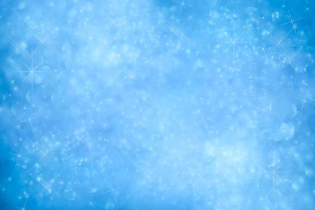 Carte de voeux de noël fond bleu