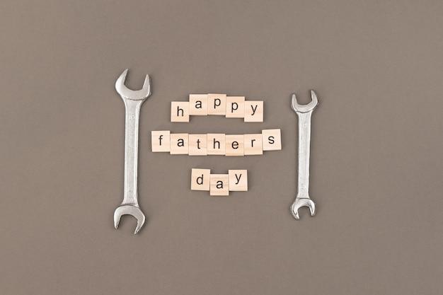 Carte de voeux pour célébrer la fête des pères