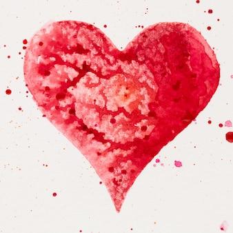 Carte de voeux saint valentin, amour, relation, art, peinture