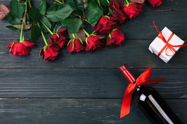 Carte de voeux saint valentin.