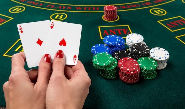 Cartes à jouer au poker