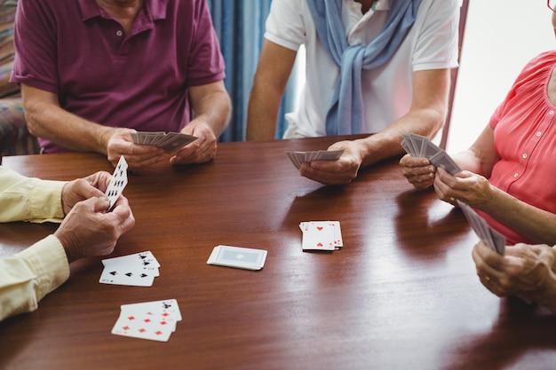 Cartes à jouer seniors