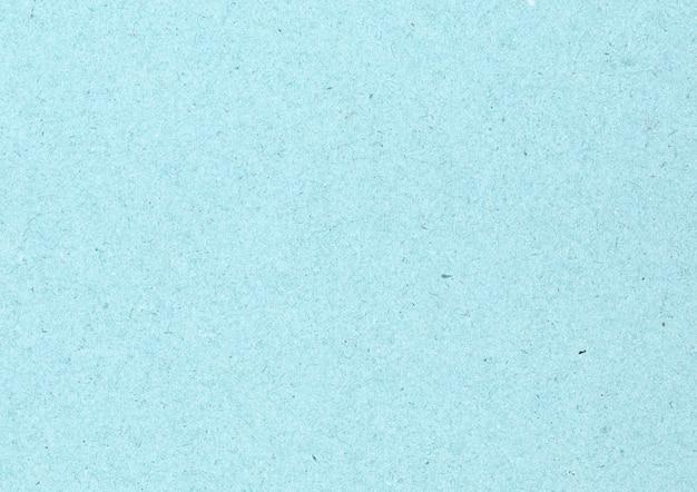 Carton bleu propre