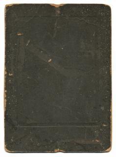 Carton plat antique