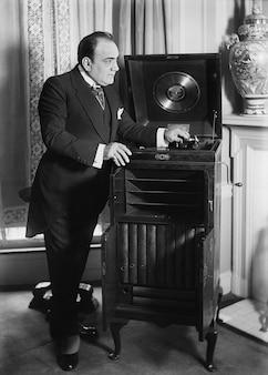 Caruso phonographe enregistreur de sons victrola enrico