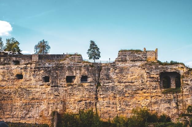 Casematte, les anciennes galeries de grottes de la vieille ville de luxembourg