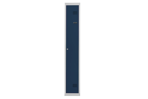 Casiers bleus pour vestiaire. vestiaire boite métal gris