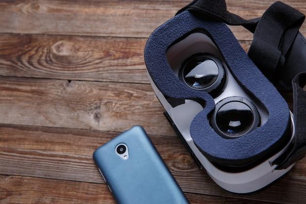 Casque de lunettes de lunettes de réalité virtuelle
