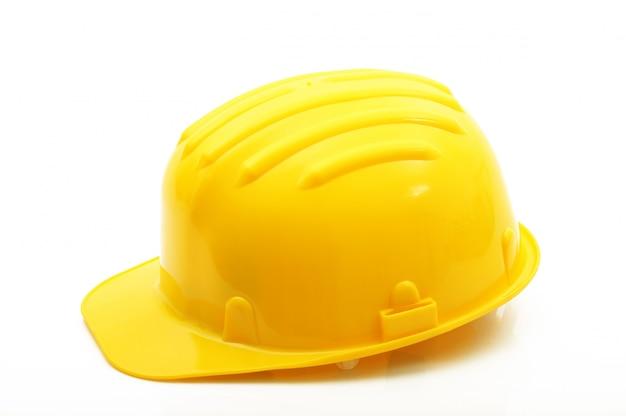 Casque de sécurité classique jaune