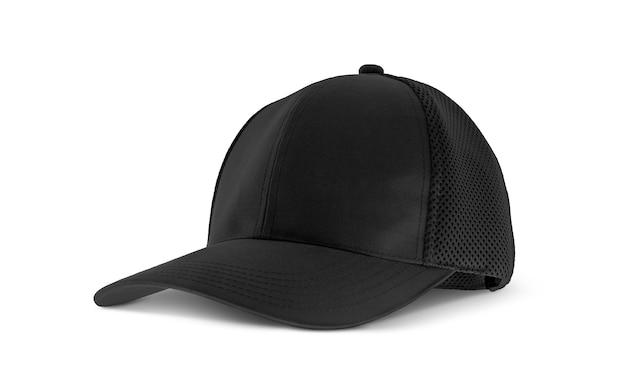 Casquette en toile noire vierge pour homme d'affaires de conception d'accessoires de vêtements haut de gamme