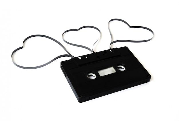 Cassette ancienne isolée