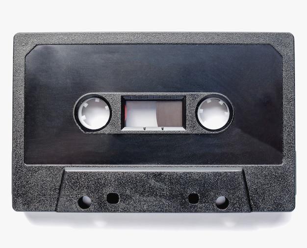 Cassette à bande noire