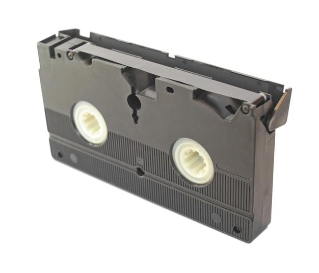 Cassette vidéo isolée