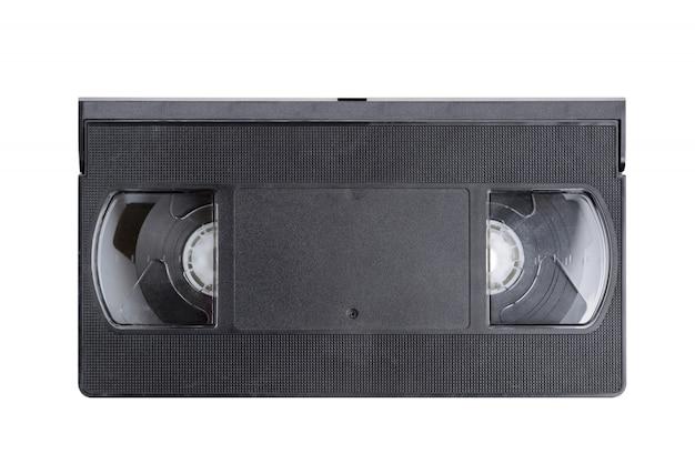Cassette vidéo vhs (vue de dessus)