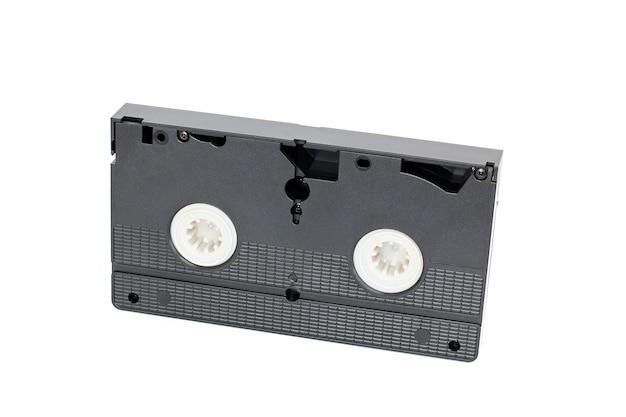 Cassette vidéo.