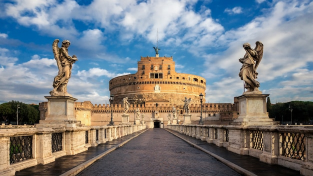 Castel sant angelo à rome, italie