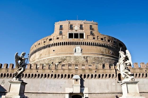 Castel sant'angelo à rome, italie