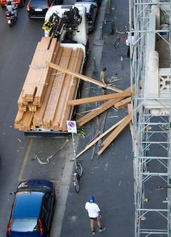 Catastrophe sur un chantier de construction
