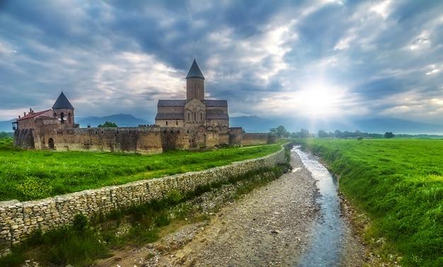 Cathédrale d'alaverdi en géorgie