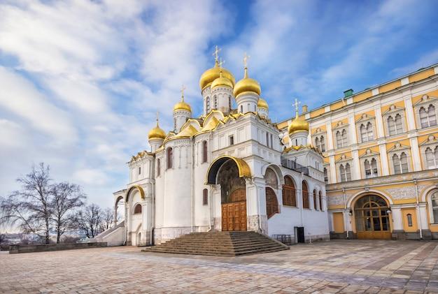 Cathédrale de l'annonciation au kremlin de moscou
