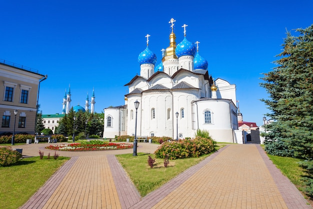 Cathédrale de l'annonciation, kremlin de kazan